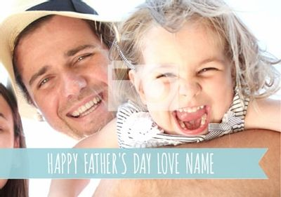 Happy Days - Father's Day Banner