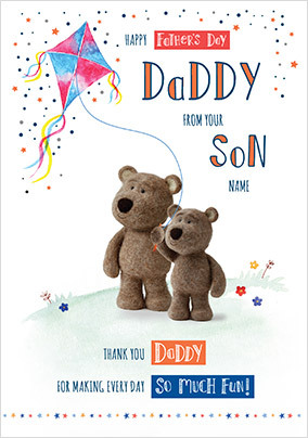 Barley Bear - Father's Day From 