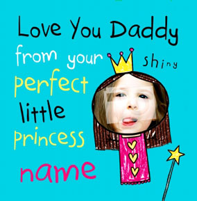 Your Princess Dad Card NO Preview Image Is Not Found