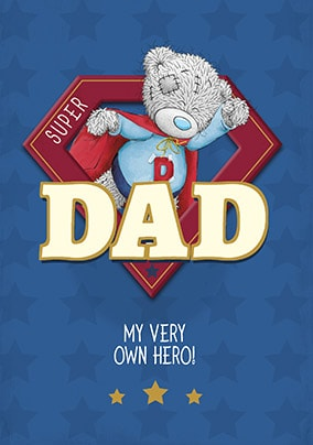 Me To You - My Hero Personalised Father's Day Card