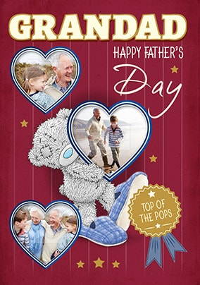 Me To You - Grandad Happy Father's Day Photo Card