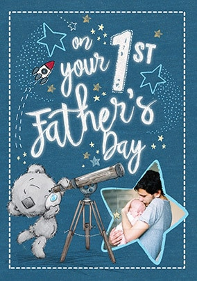 Me To You 1st Father's Day Photo Cards