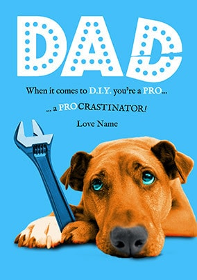 03db2ee7 Father's Day Cards From The Dog | Funky Pigeon