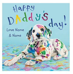 Happy Daddy's Day Personalised Card