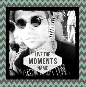 Aztec Summer - Black Live the Moments Card