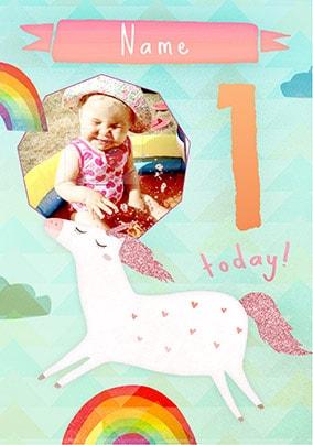 Believe It Baby Birthday Card