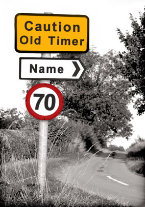 Blatant Lane - Caution Old Timer 70