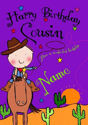 Send Cousin Birthday Cards