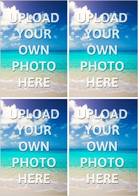 Four Photo Upload Card