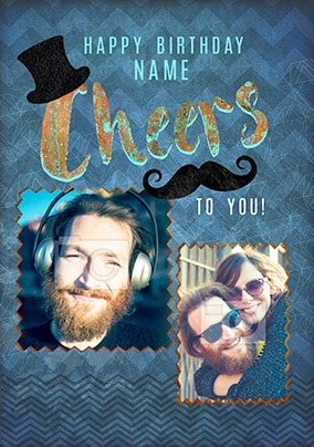 Cheers To You! Multi Photo Card