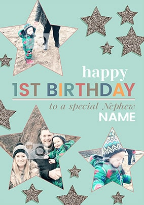 To The Stars Nephew 1st Birthday Card Shortlist This