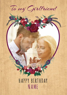 Birthday Card Photo Upload My Girlfriend NO Preview Image Is Not Found
