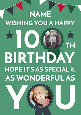 Happy 100th Birthday Photo Card