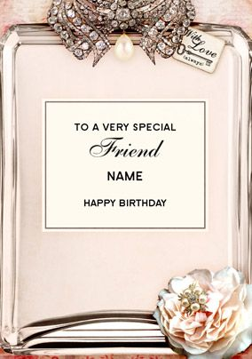 Love Labels - Diamanté Friend