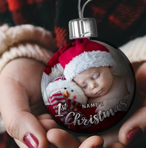Babys 1st Christmas Photo Bauble. NO. preview image is not found