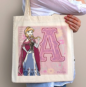 Anna Personalised Tote Bag - Disney Frozen
