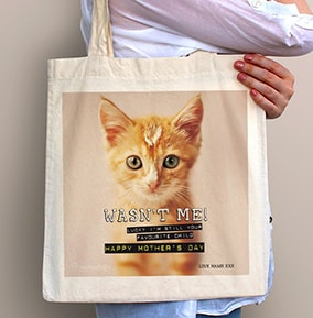 Favourite Child Kitten Tote Bag - Rachael Hale