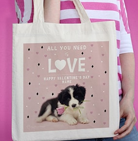 All You Need is Love  a Dog Tote Bag