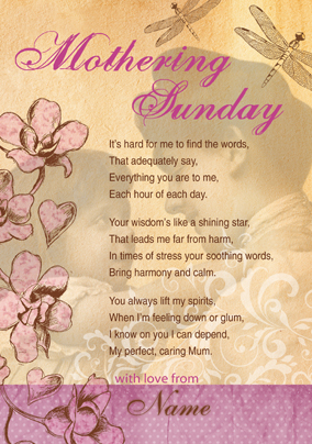 Emotional Rescue - Mothering Sunday Poem
