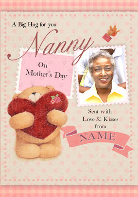 Forever Friends - Nanny on Mothers Day Card