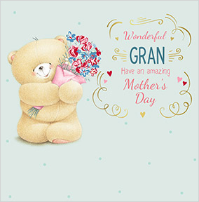 Forever Friends - Wonderful Gran Mother's Day Card