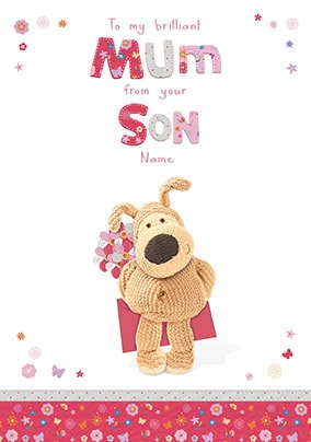 Boofle - Mum from your son on Mother's Day