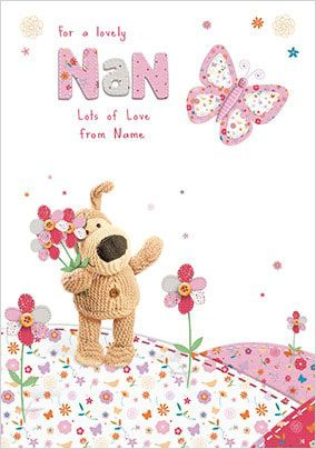 Boofle - Nan Mother's Day Card