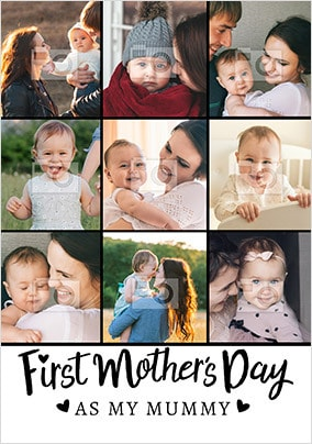 First Mother's Day As Mummy Multi Photo Cards