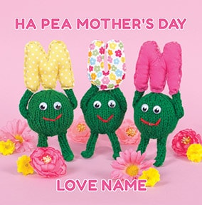 Knit & Purl - Ha Pea Mother's Day