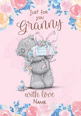 Just for You Granny Me to You Card