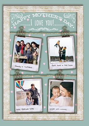 Happy Mother's Day I Love You! Photo Card