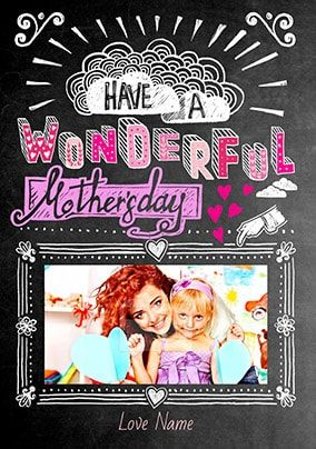Have A Wonderful Mother's Day Photo Card