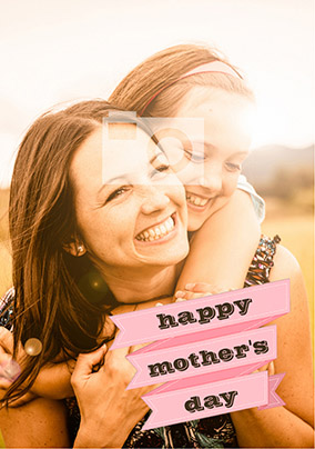 Better Together - Photo Upload Mother's Day Card