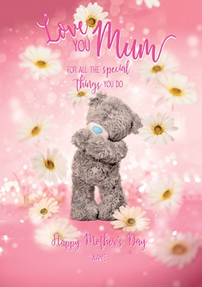 Me To You - Love You Mum Personalised Card