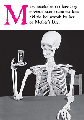Housework Mother's Day Card - Emotional Rescue