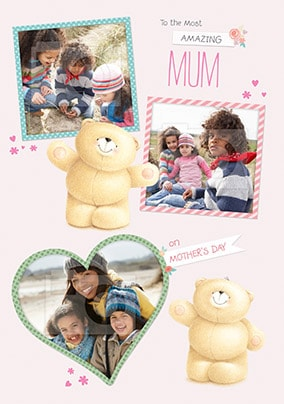 Amazing Mum Forever Friends Photo Mother's Day Card