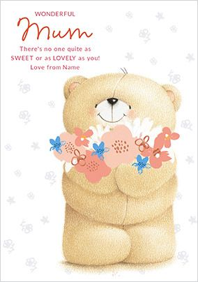Forever Friends - Wonderful Mum Mother's Day Card