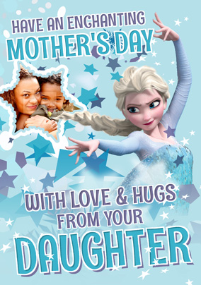 Elsa Mother's Day Photo Card from Daughter