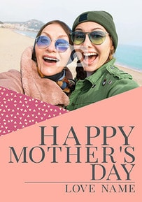 Happy Mother's Day You're Gold Photo Card