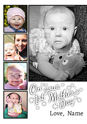 First Mother's Day Photo Upload Mother's Day Card - Essentials