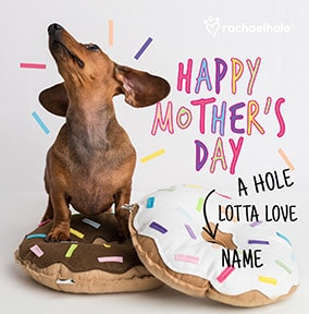 Dachshund Personalised Mother's Day Card