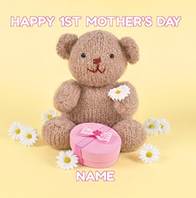 Happy 1st Mother's Day Personalised Card