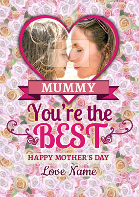 Rhapsody - Mother's Day Card Mummy You're the Best