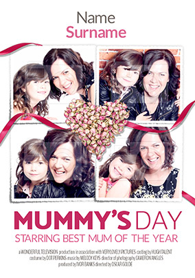 Spoofs Photo Upload Mother's Day Card - Mummy's Day