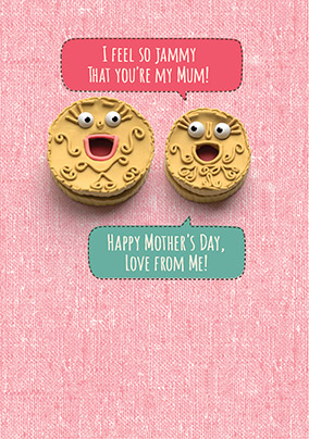 Jammy Mother's Day Card - Shut Your Cake Hole
