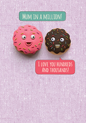 Hundreds & Thousands Mother's Day Card - Shut Your Cake Hole