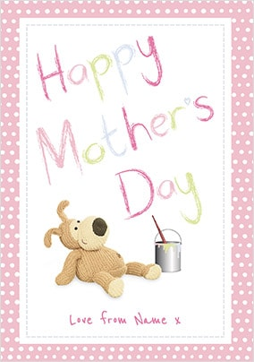 Boofle - Happy Mother's Day Personalised Card