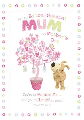 Boofle - Extra Special Mum Personalised Card
