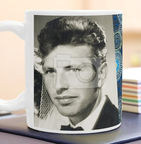 80 years male milestone photo mug