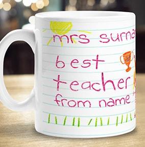 900f0cc7b79 Teacher Mugs - Personalised Mugs for Teachers | Funky Pigeon